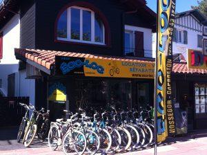 Magasin de location de Vélo à Hossegor