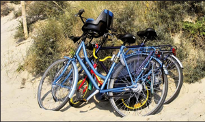 Balades à vélo à Hossegor (Landes)
